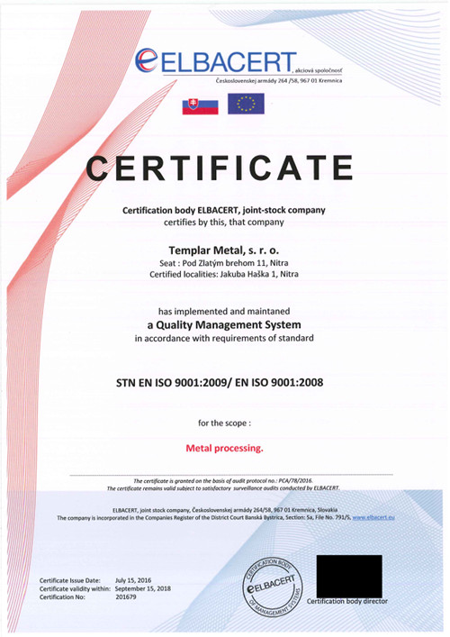 STN EN ISO 90012009-EN ISO 90012008 english version